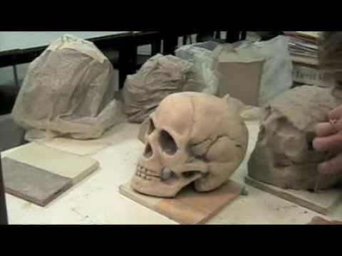 5 How To Sculpt A Clay Skull Ceramics Projects Sculpting Clay Clay Crafts