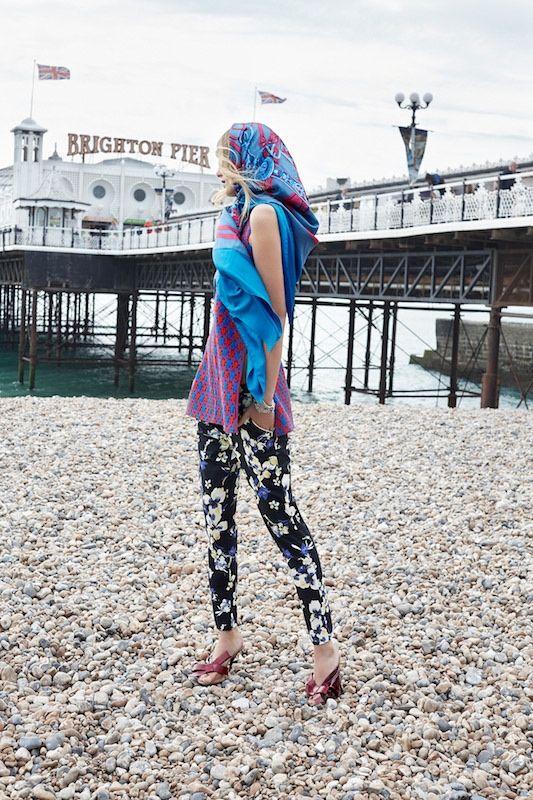 fashion editorial Denisa Dvorakova by Agata Pospieszynska for ELLE Czech July 2015