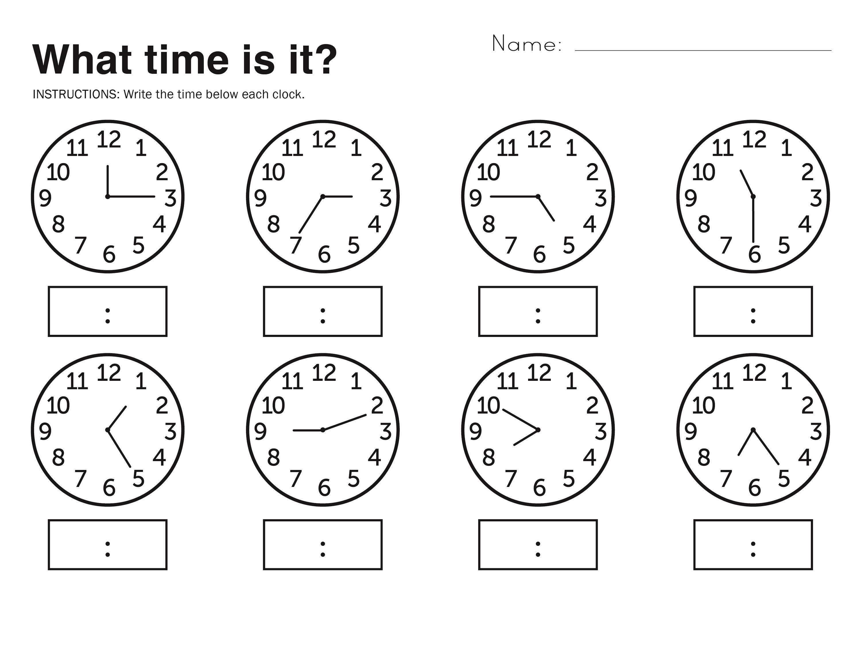 Easy Elapsed Time Worksheets Simple In