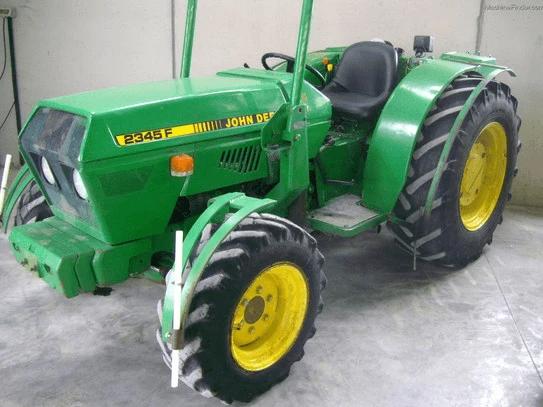 John Deere 1445F, 1745F, 1845F, 2345F Tractor Operation