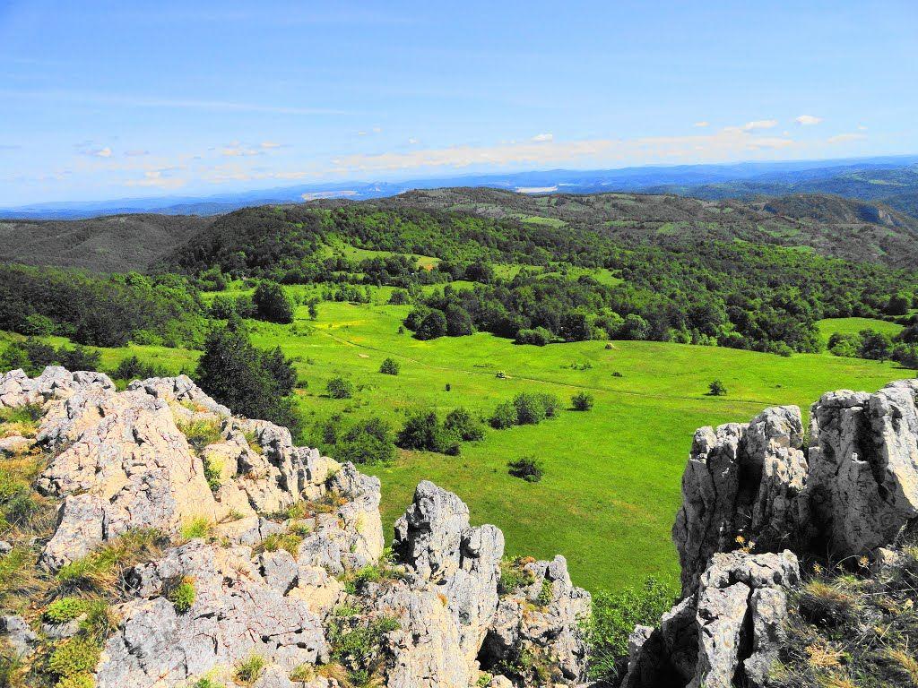 Pogled sa Zdravcevog  Kamena , Serbien