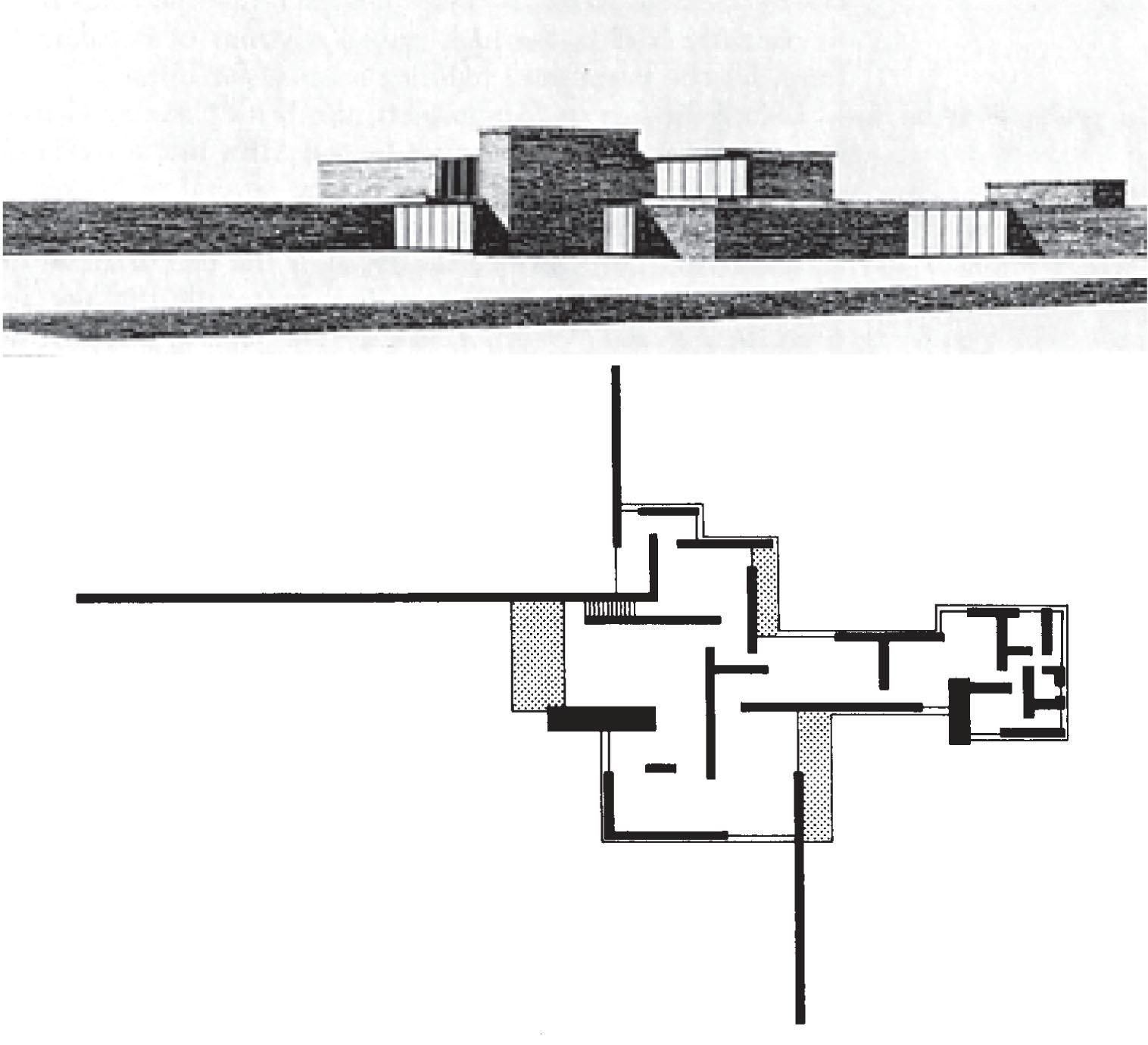 Mies brick house project