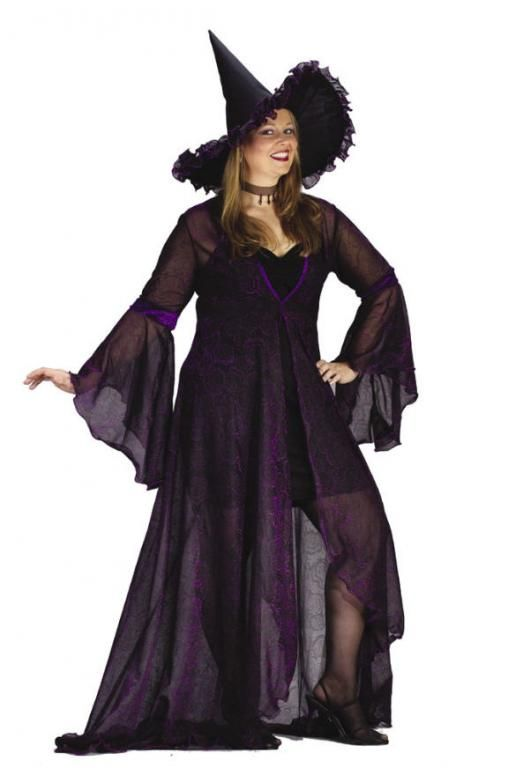 44+ Plus Size Witch Halloween Costumes Images