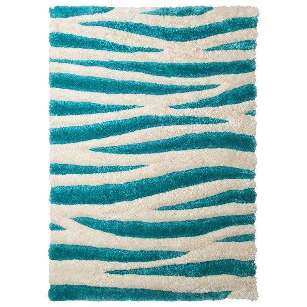 Zebra Eyelash Shag Area Rug - Target