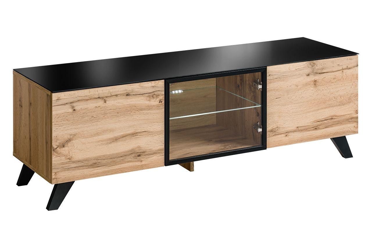 Meuble Tv Angle Bas tampa rtv - banc tv | meubles de salon en bois, mobilier de