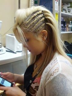 Pin by Maddesen Wright on Hair   Hair styles Braided ...