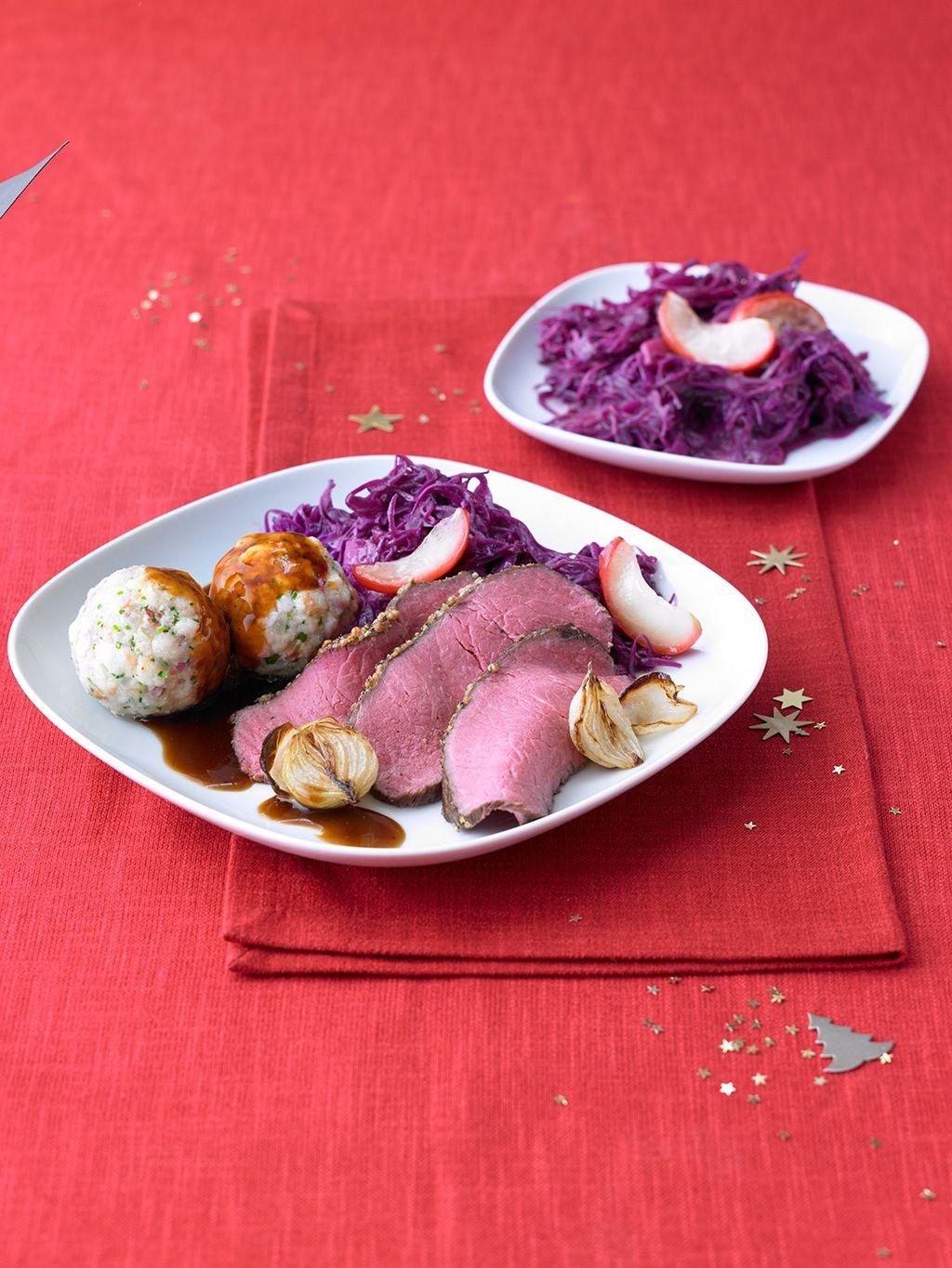 Roastbeef bei 80 Grad   Weihnachten essen, Braten rezepte und ...
