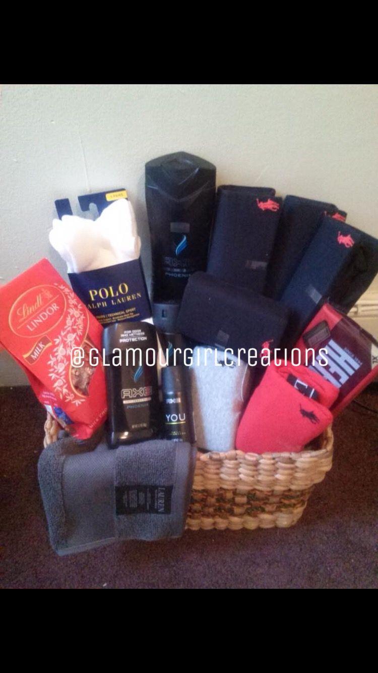 71895c2c5 Small polo basket | Gift baskets | Christmas gift baskets, Small christmas  gifts, Bday gift for boyfriend