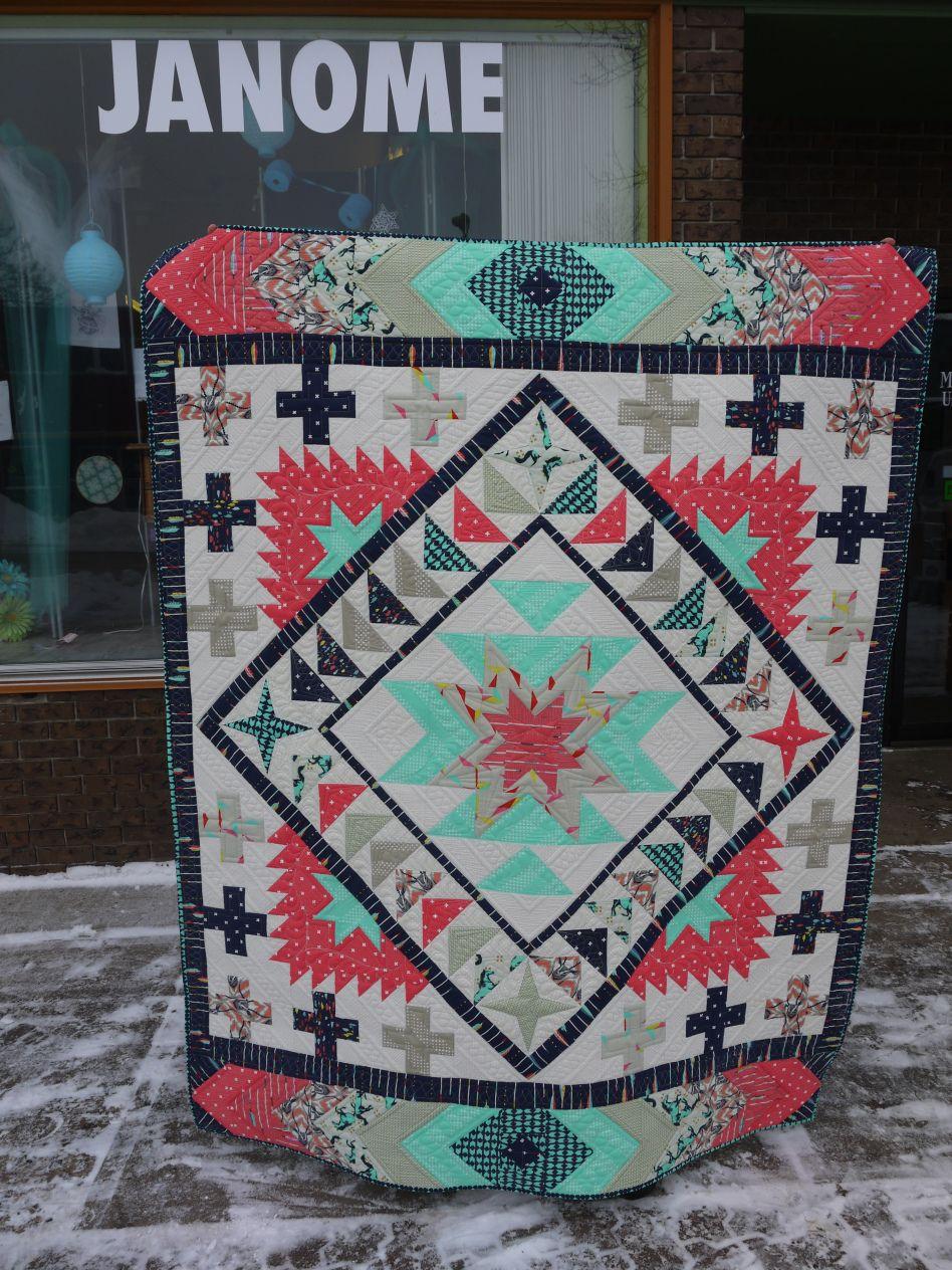 Jackson Hole Quilt Pattern By Emily Herrick I Don T Like