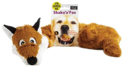 Shake A Fox Dog Toy Toy Size Large You Can Get Additional