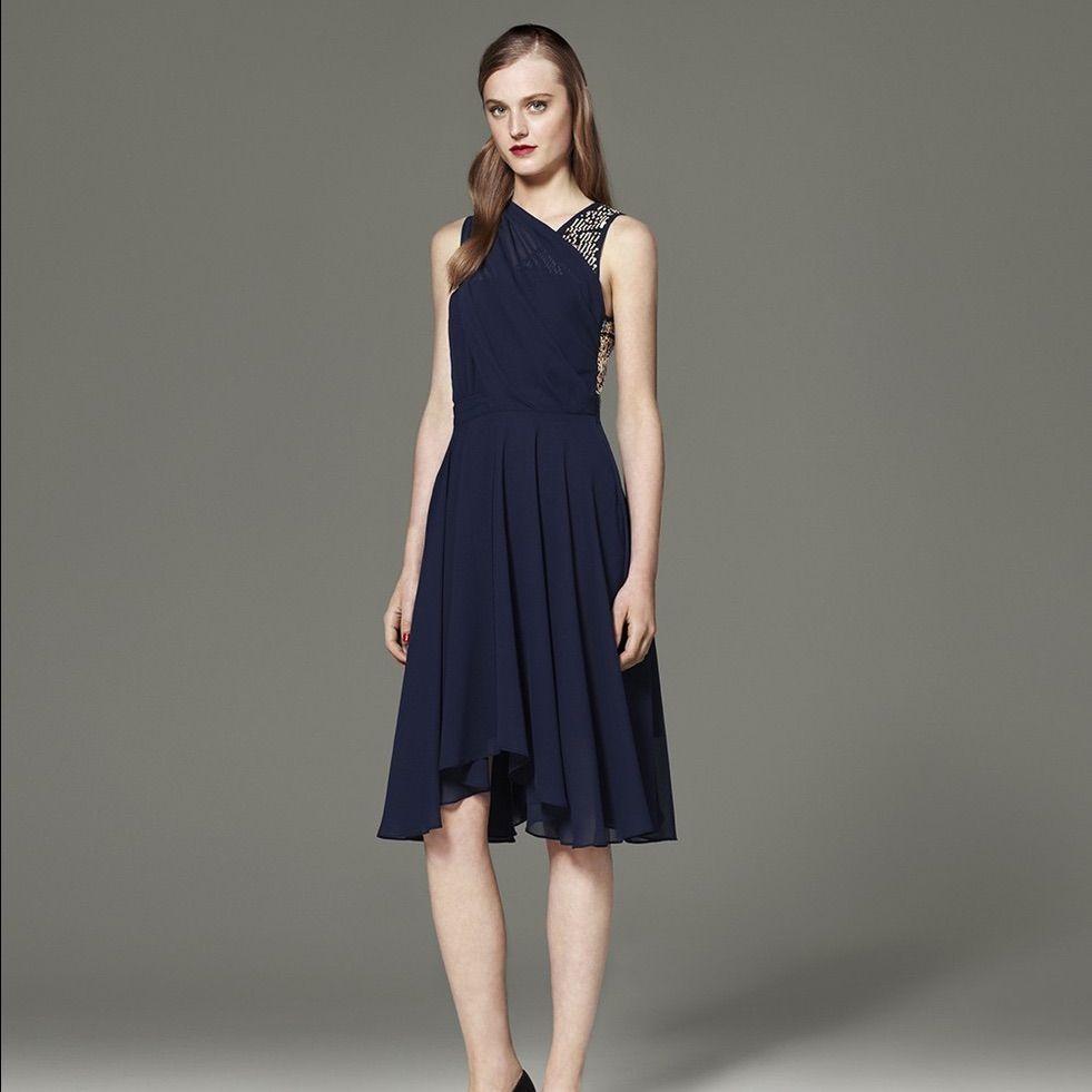 939e39cd Nwt Phillip Lim For Target Blue Chiffon Dress   Products   Fashion ...