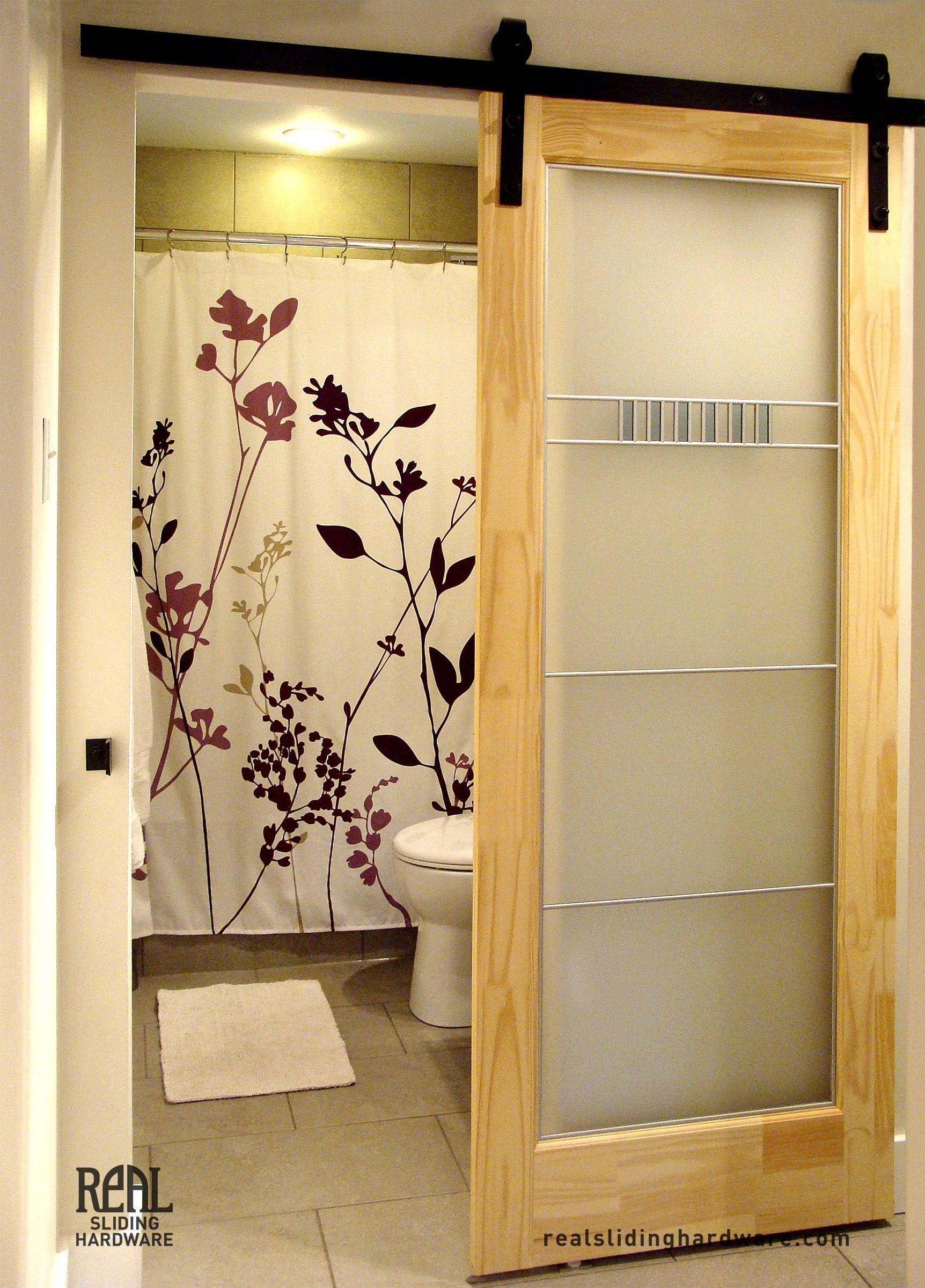 Bathroom Door Ideas: Space Saving Sliding Barn Door Walking In Closet Door