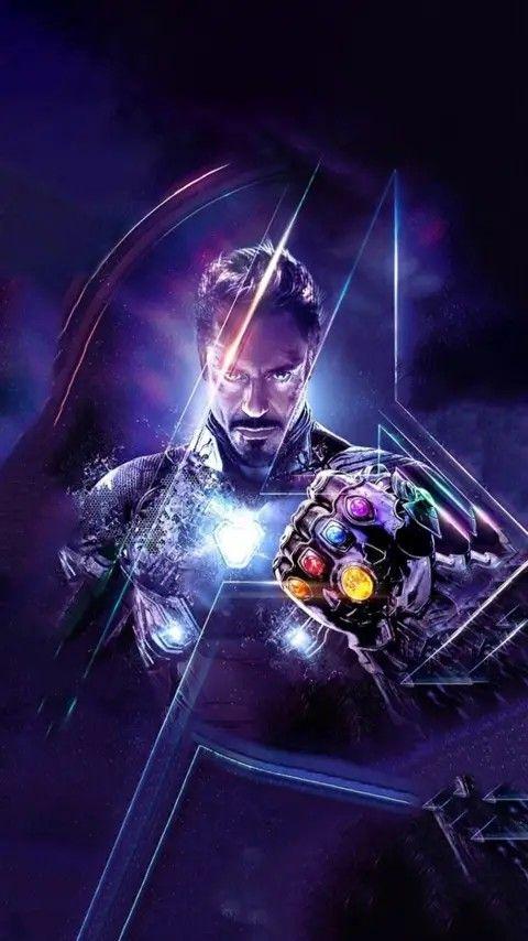 Iron Man Black Armour iPhone 6 Plus HD Wallpaper / iPod