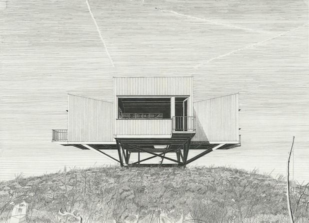 Landscape Houses, by Denis Andernach.