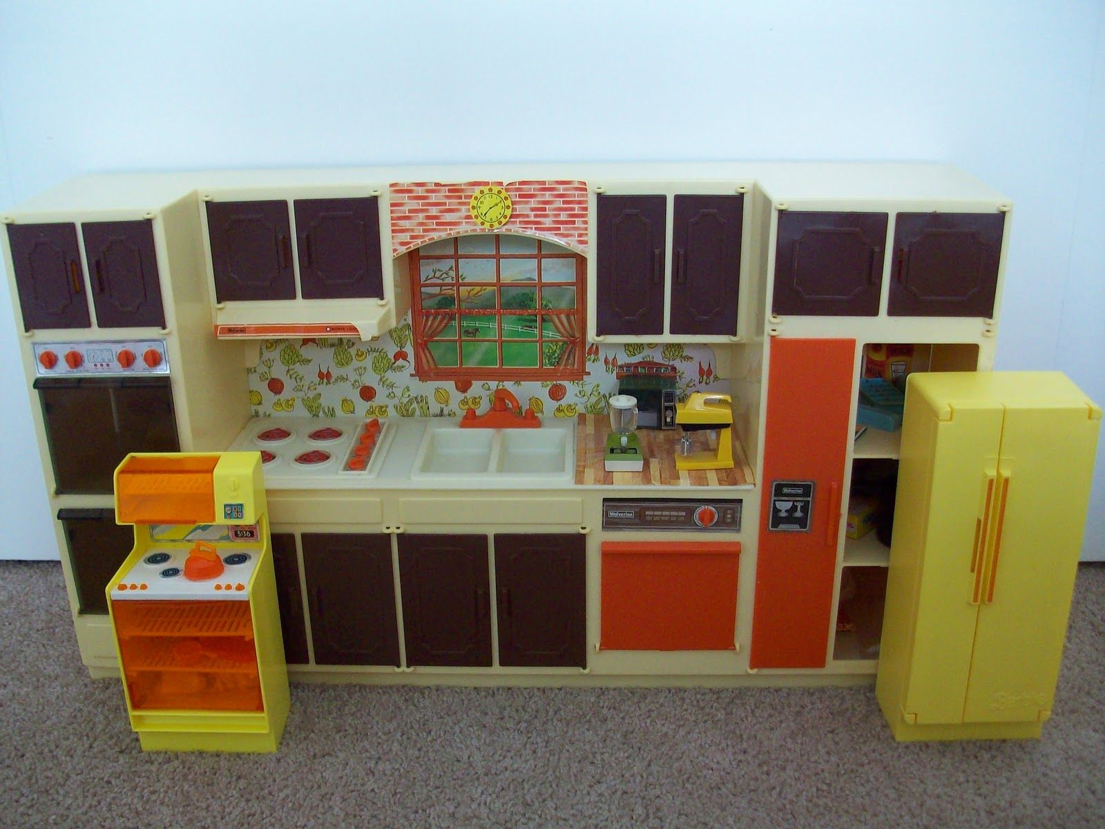 Sears Kitchen Center Play Set By Wolverine 1970 S The