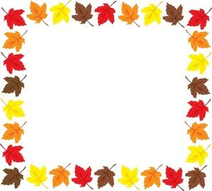 fall leaves clip art border places to visit pinterest fall leaves rh pinterest com  fall leaves border clip art free