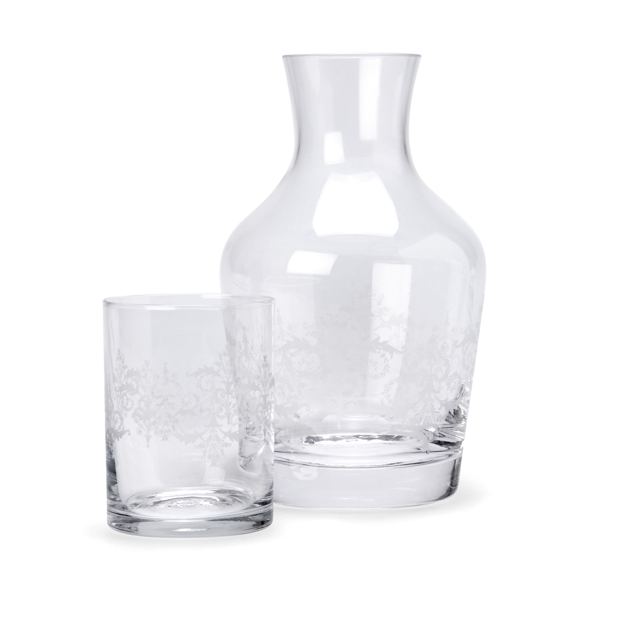 Bedside Water Carafe And Glass Josette Glass Carafe And Tumbler Set Keuken Pinterest