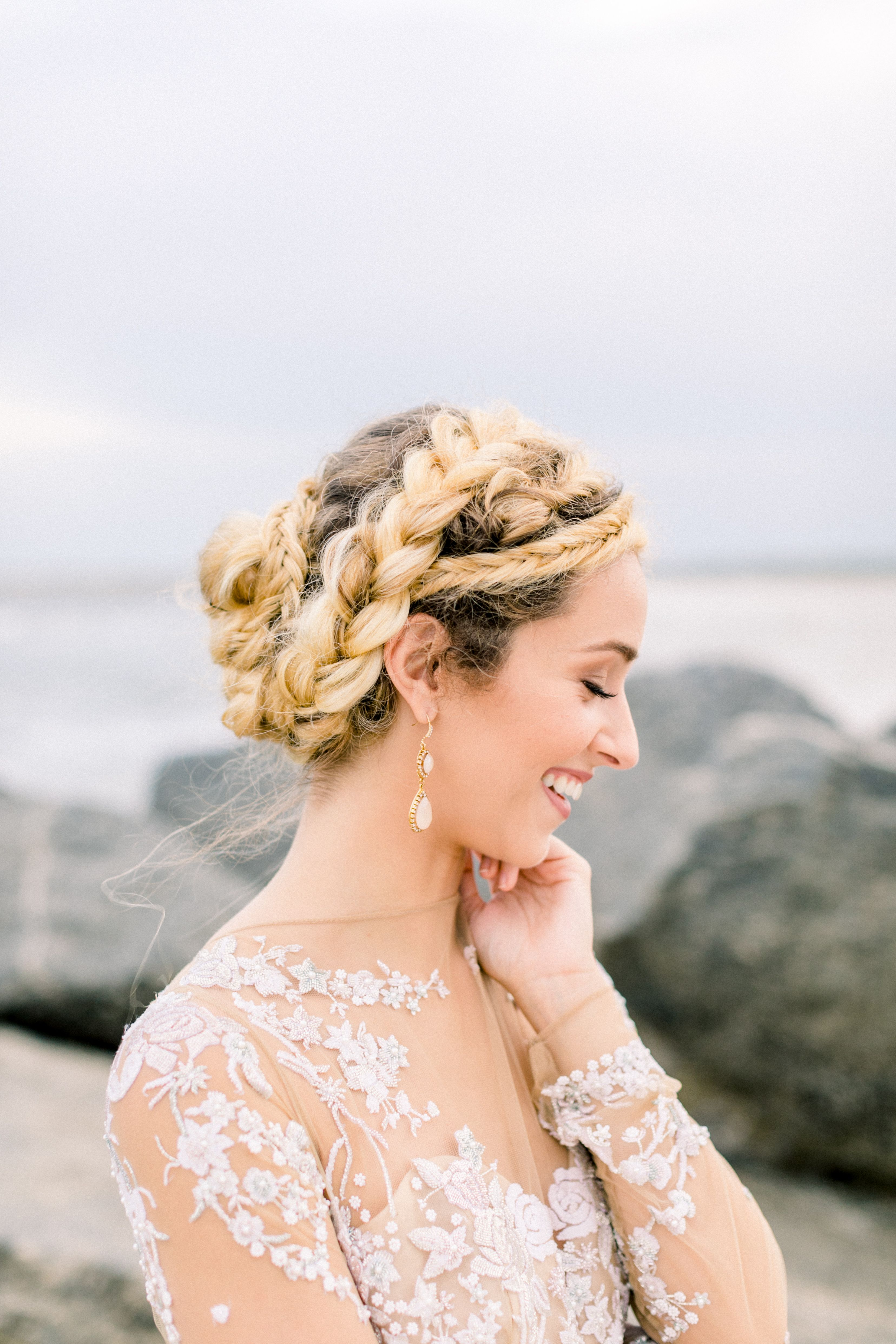 boho wedding hairstyles | fine art design