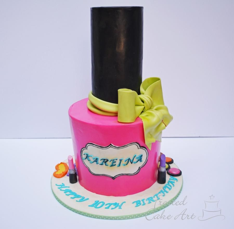 Nail Polish Cake By Seema Acharya