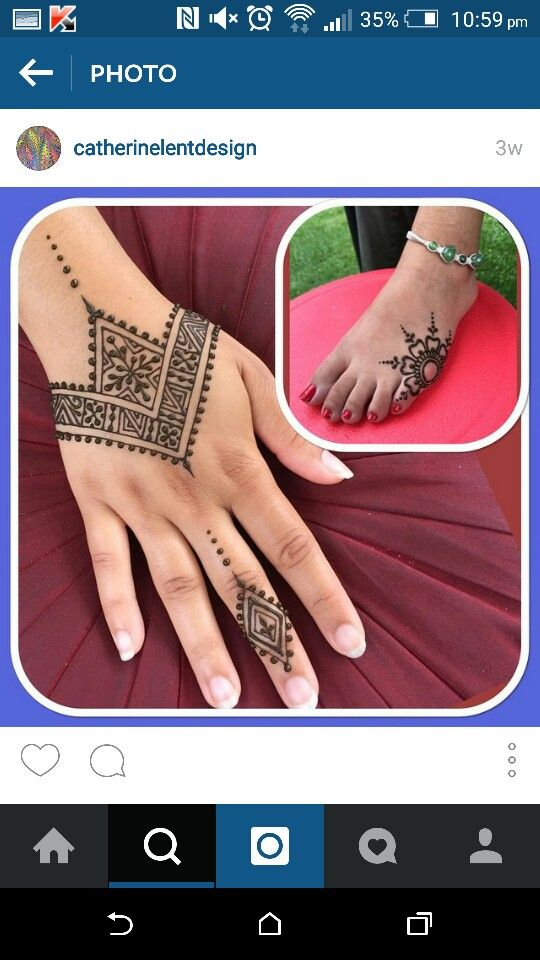 Henna By Leyla Shemesh: Festival Henna (With Images