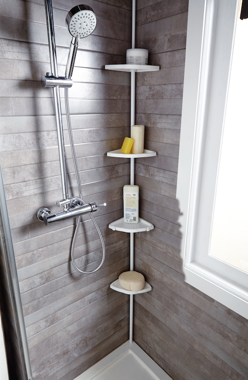 Mantener el cuarto de baño despejado es más fácil si aprovechamos ...