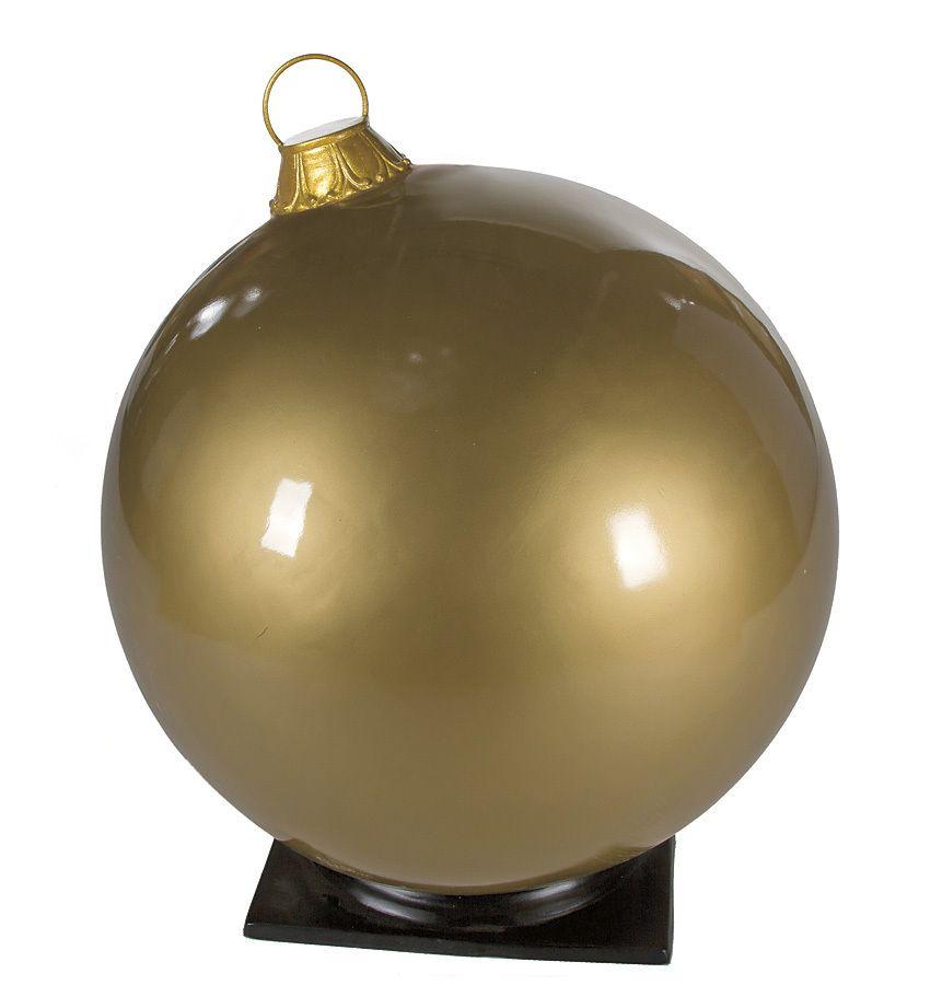 COMMERCIAL CHRISTMAS/INDOOR OUTDOOR FIBERGLASS ORNAMENT ...