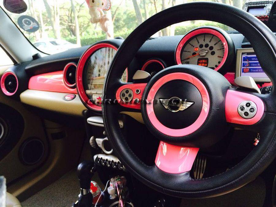Mini dashboard rings r55 r56 r57 r58 r59 r60 choice of - Mini countryman interior accessories ...