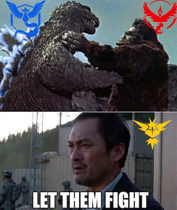 14 'Pokemon GO' Memes That Explain the Ongoing Team Feud ...
