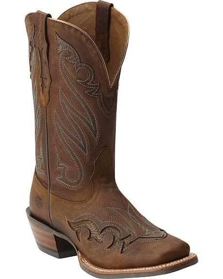 Ariat Trail Head Boots - Wide Square Toe | Style | Pinterest ...