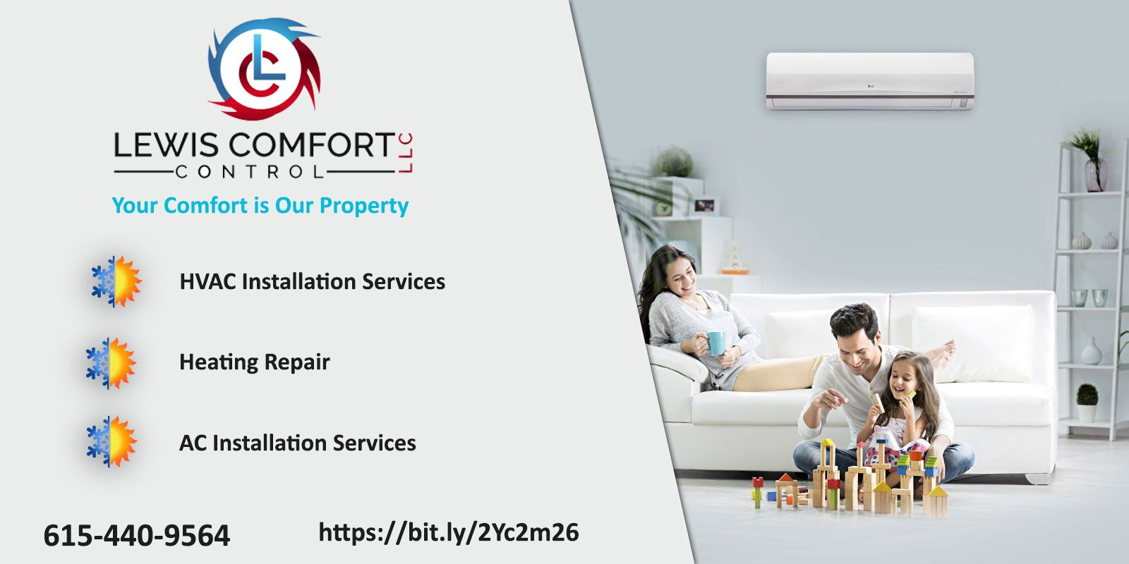If You Are Looking For Affordable Hvac Installation Companies In Nashville Tn Then Lewis Comfort Control Is Hvac Installation Ac Repair Services Heating Repair