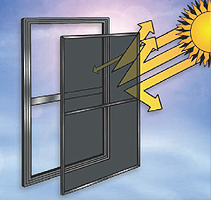 Energy saving screen saving on energy costs with solar - Exterior sun blocking window shades ...