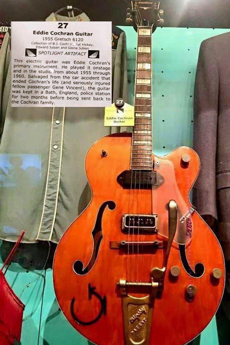 Eddie Cochran's guitar. Gretsch, Guitar, Learn acoustic