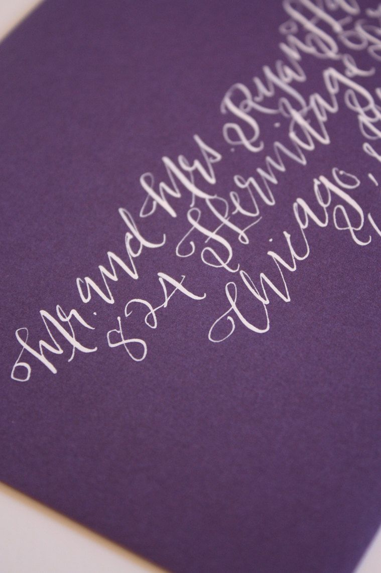Outer Envelope Calligraphy Sophia Condensed Font Calligraphy