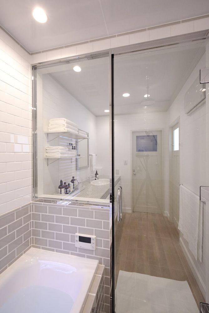 ひよりごと シンプル バスルーム 浴室リフォーム 家