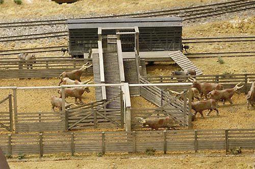Building Livestock Pens Model Layouts Pinterest Model Train