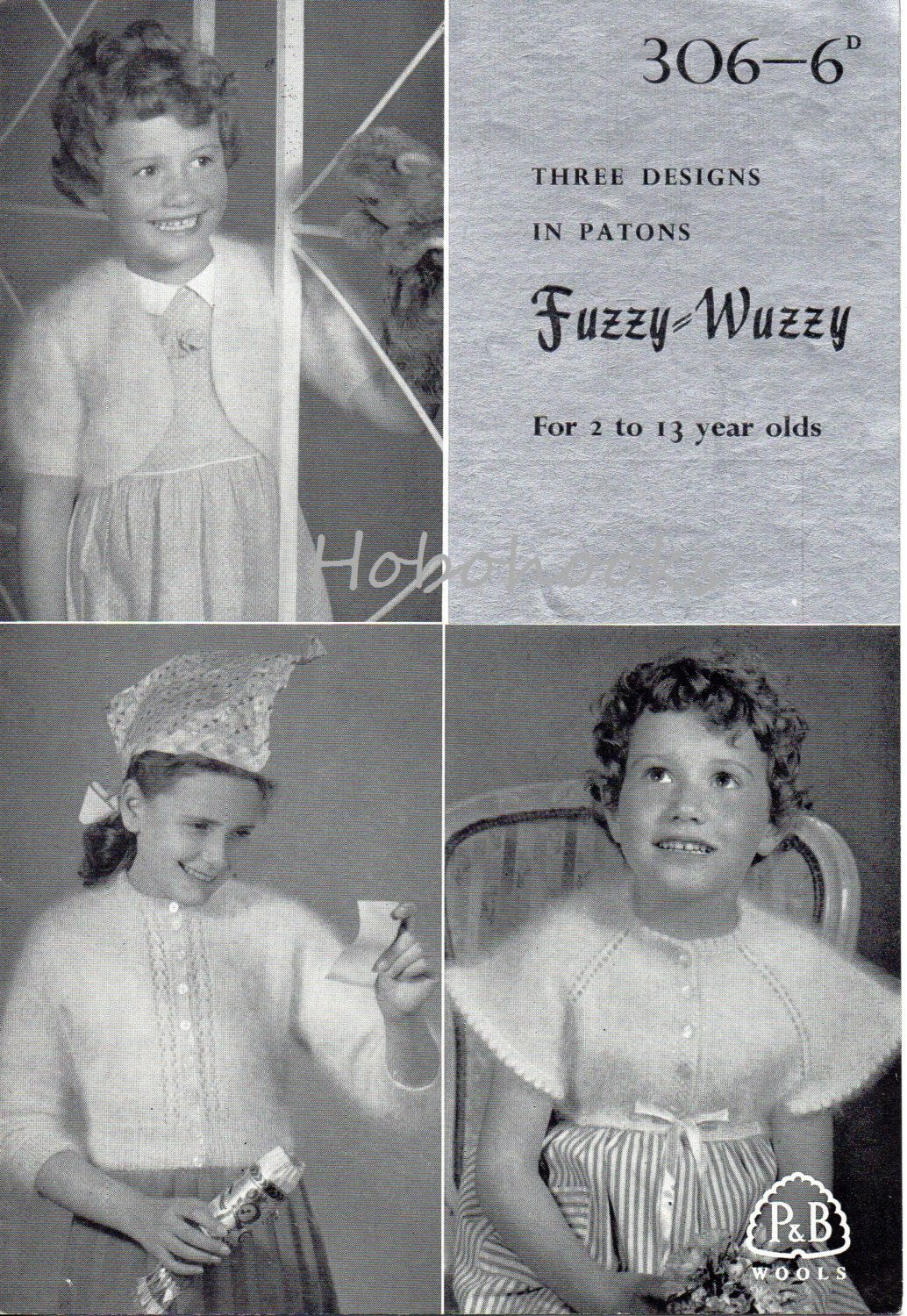 Vintage girls mohair cardigan boleros knitting pattern pdf 4ply 1950s girls bolero and cardigan knitting pattern made with fuzzy wuzzy wool you would bankloansurffo Image collections