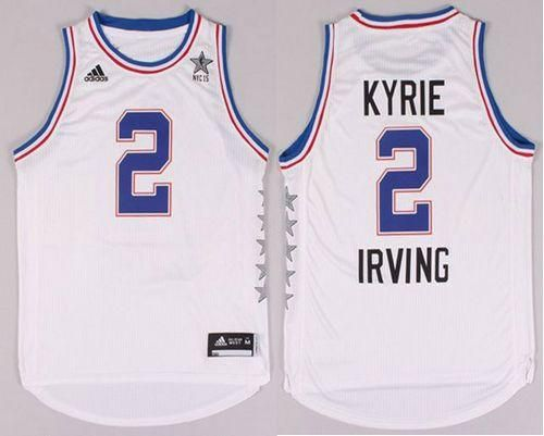 0180daeef Cavaliers  2 Kyrie Irving White 2015 All Star Stitched NBA Jersey ...