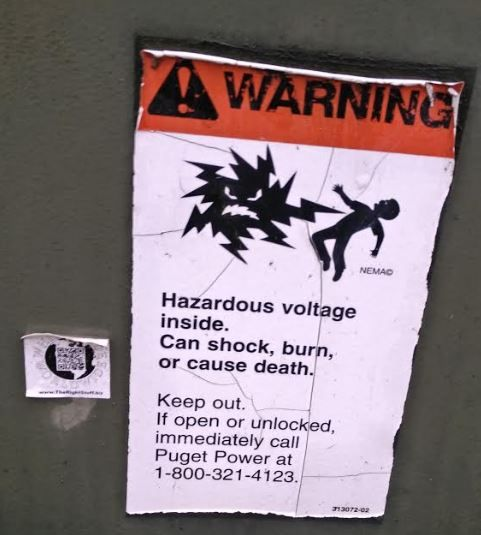 Shocker Hazardous Voltage