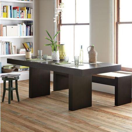 The Minimalist Terra Dining Table Minimalist - West elm terra dining table