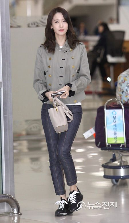 Snsd Yoona Airport Fashion Style Snsd Airport Fashion Pinterest