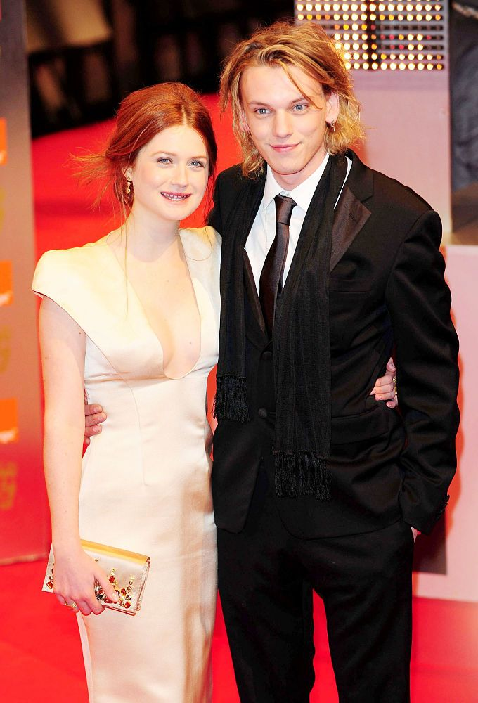 Jamie Campbell Bower & Bonnie Wright. Gellert Grindelwald ...