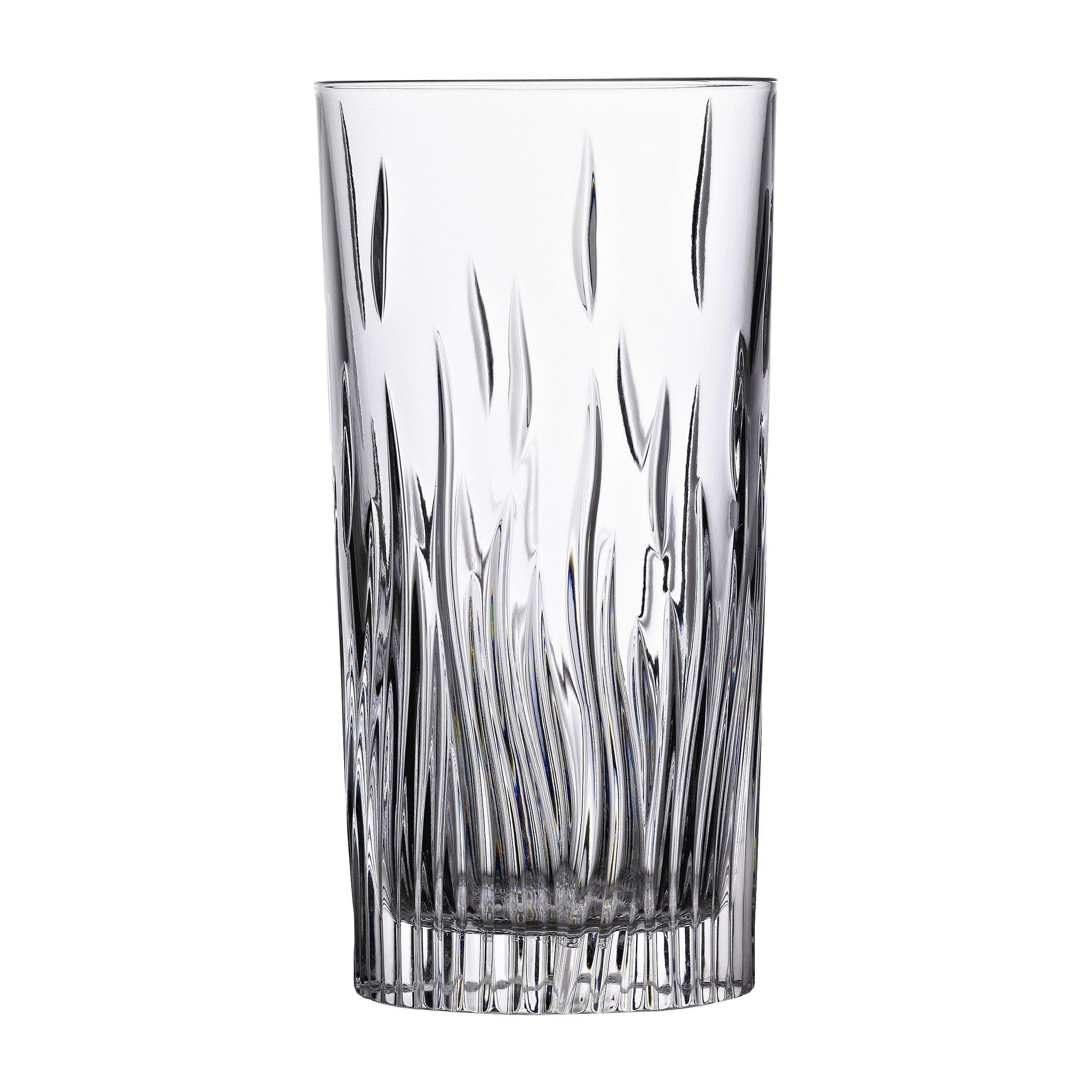 Lorren Home Trends RCR Fire Highball Glass & Reviews | Wayfair