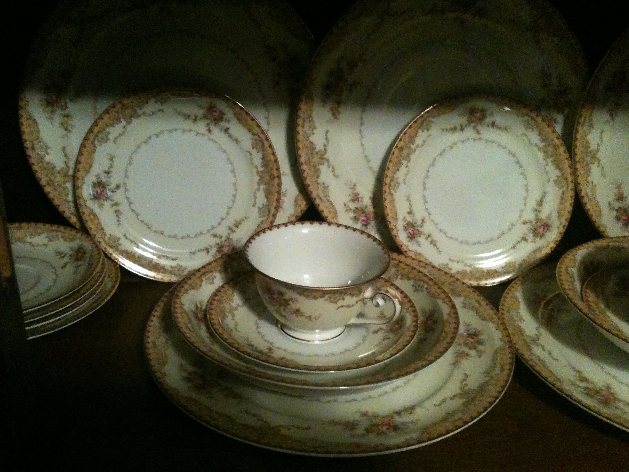 Meito China Pattern Identification Simple Design Ideas