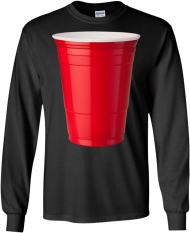 Red Solo Cup Party Beer Drinking By Zany Brainy Apparel Volleyball My Valentine Png Image With Transparent Background Drinking Beer Red Solo Cup Beer Party