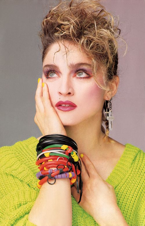 Madonna perfection in 1984.