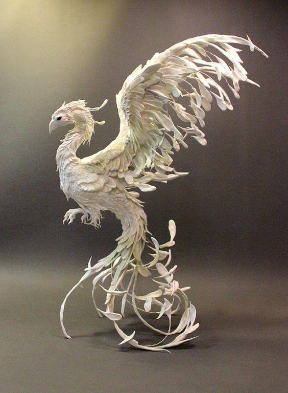 White Bird Fantasy Google Search Phoenix Art Art