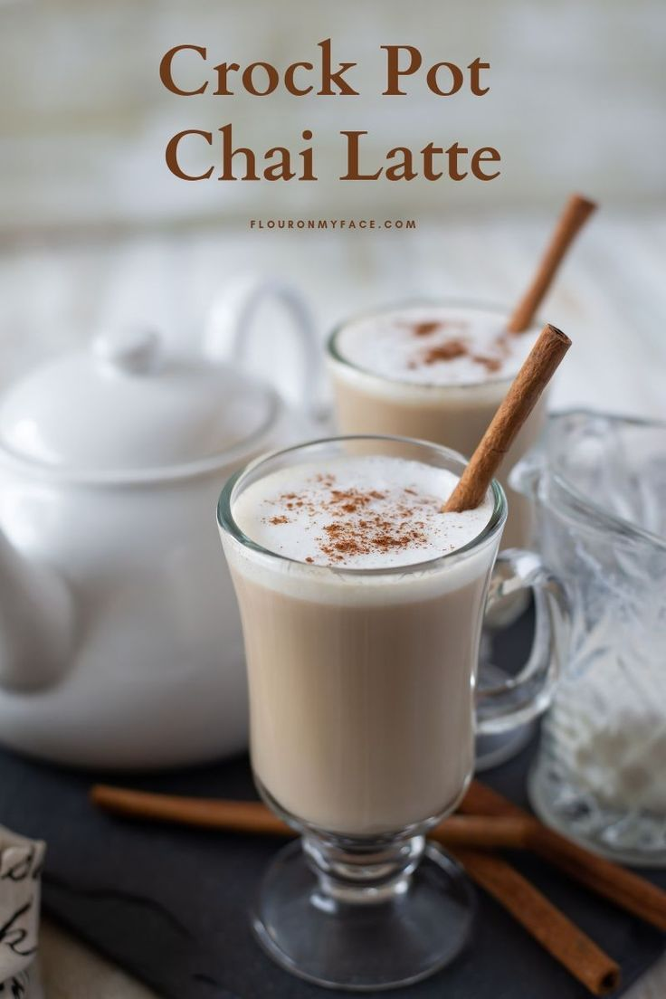 Crock pot chai tea latte recipe chai tea latte hot