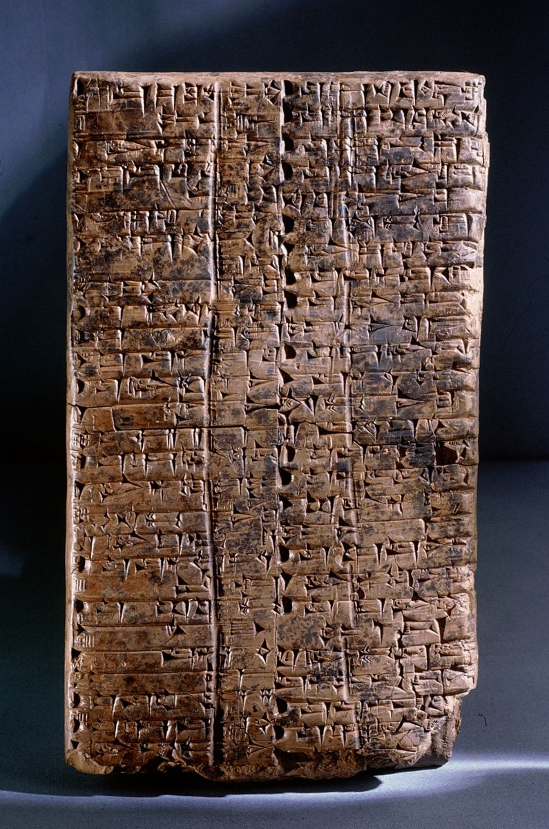 how to read cuneiform writing