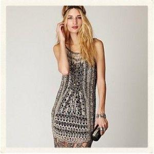Crochet roaring 20s dress
