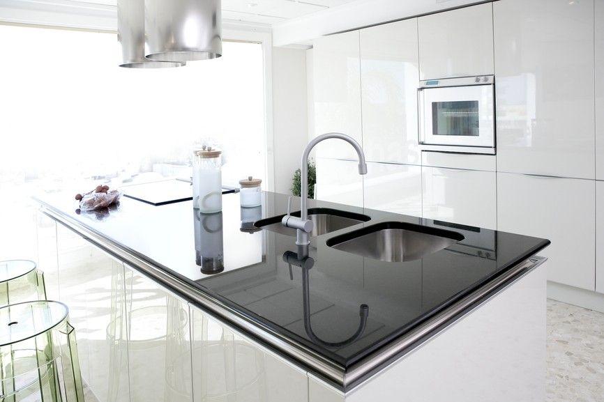 Moderne Küche | 33 Schöne Weiße Luxus Küchendesign (Bilder), Die Das ...